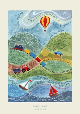 Hannah Dunnett Dearly Loved greetings card US version