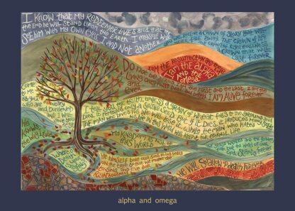 Hannah Dunnett Alpha and Omega card USA version