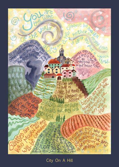 Hannah Dunnett City On A Hill card USA version