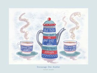 Hannah Dunnett Encourage One Another USA 12 x 9 poster