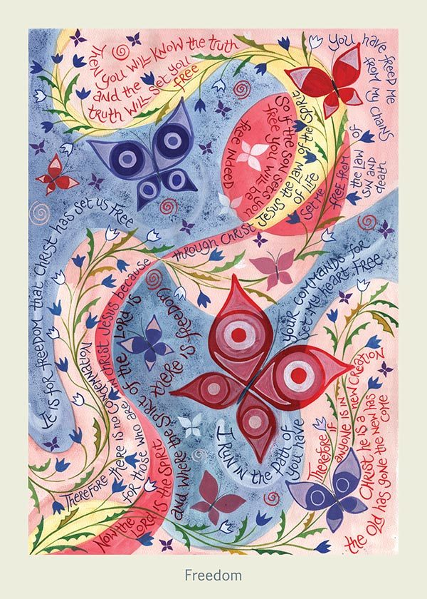 Hannah Dunnett Freedom card USA version