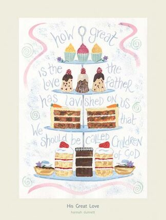 Hannah Dunnett His Great Love USA 12 x 9 poster