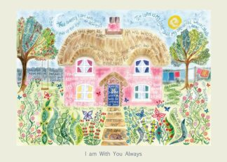 Hannah Dunnett I Am With You Always card USA version