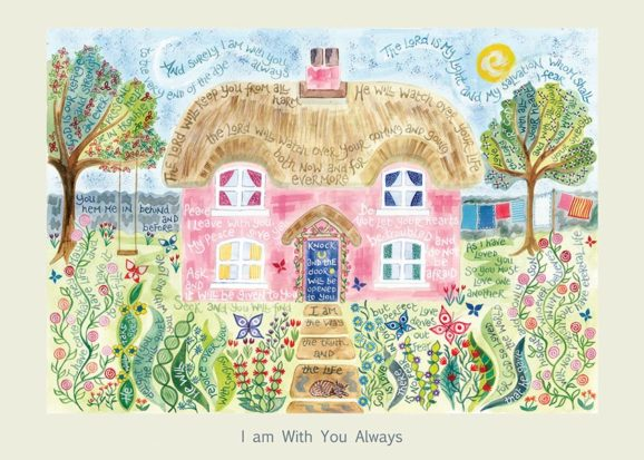 Hannah Dunnett I Am With You Always card USA version