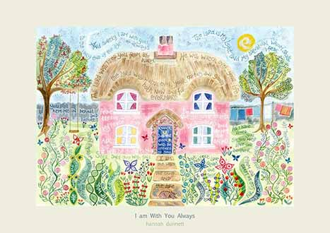 Hannah Dunnett I am with you always greetings card US link