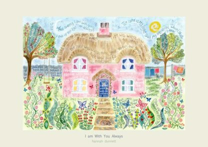 Hannah Dunnett I am with you always greetings card US version