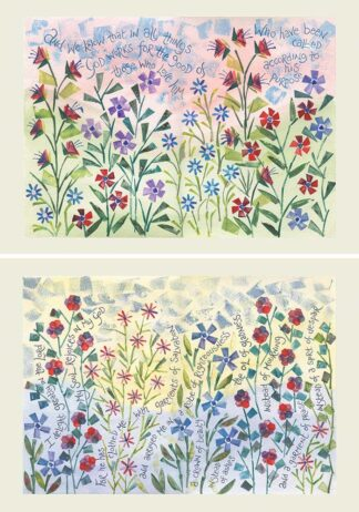 Hannah Dunnett In All Things and Crown Of Beauty Notecards USA version