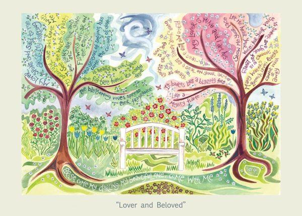 Hannah Dunnett Lover and Beloved card USA version