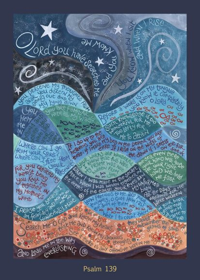 Hannah Dunnett Psalm 139 card USA version