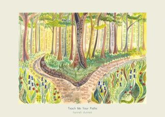 Hannah Dunnett Teach Me Your Paths greetings card US version