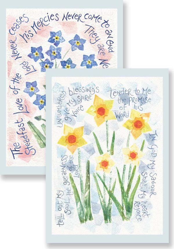 Hannah Dunnett Tell Out My Soul and The Steadfast Love Notecards updated USA version