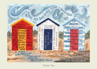 Hannah Dunnett Thank You card USA version