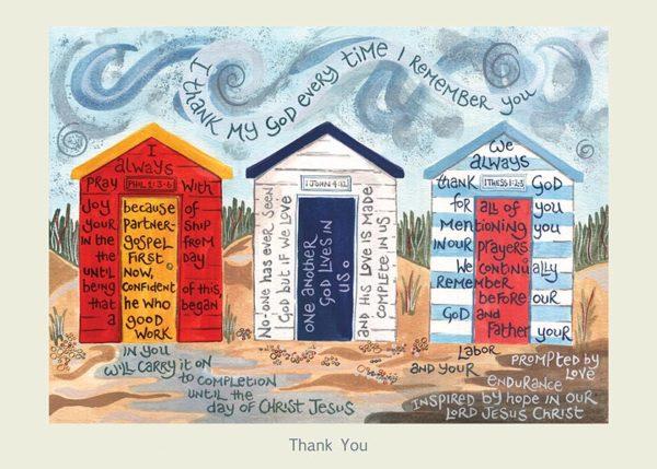 Hannah Dunnett Thank You card USA version