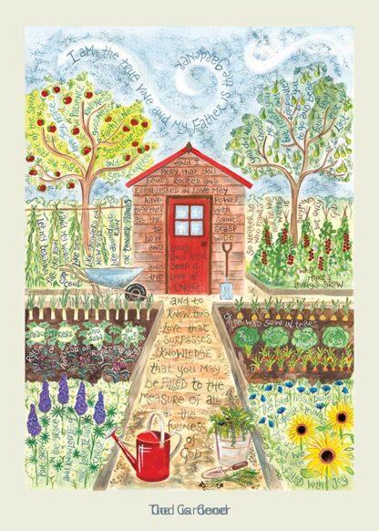 Hannah Dunnett The Gardener card USA version