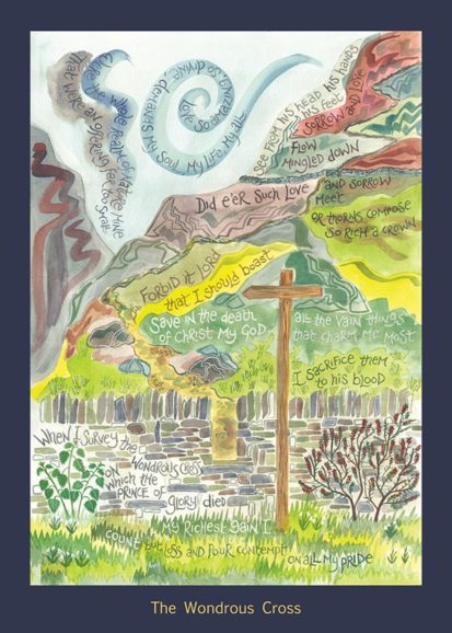 Hannah Dunnett Wondrous Cross card USA version