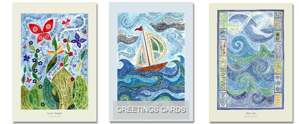 Ben and Hannah Dunnett USA greetings cards homepage greetings cards link
