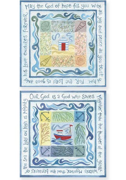 Hannah Dunnett God of Hope and A God Who Saves Notecards USA version