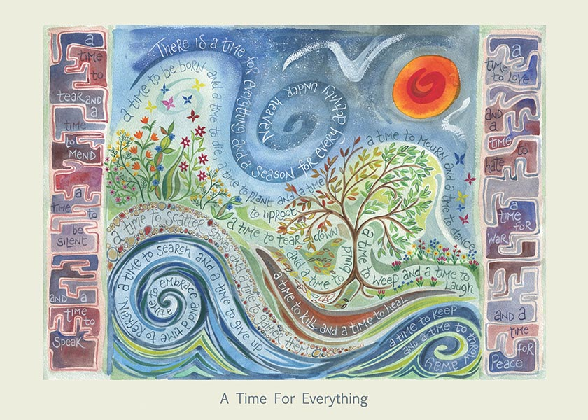 Hannah Dunnett A Time For Everything card USA version