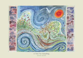 Hannah Dunnett A Time For Everything greetings card US version