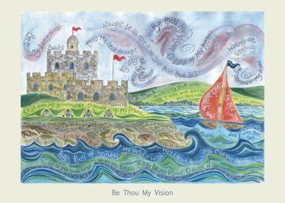 Hannah Dunnett Be Thou My Vision card USA version