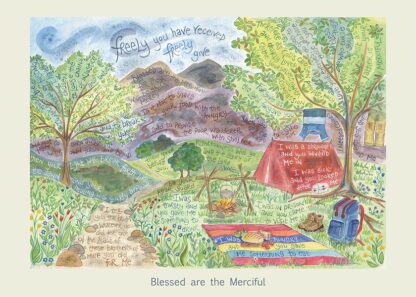 Hannah Dunnett Blessed are the Merciful card USA version