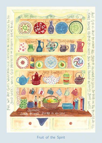 Hannah Dunnett Fruit of The Spirit card USA version