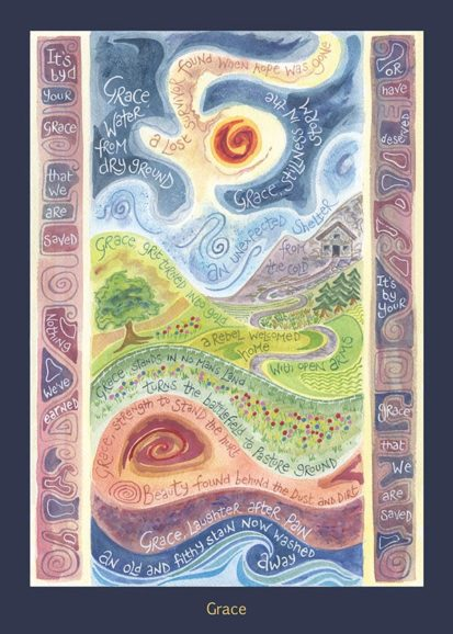Hannah Dunnett Grace card USA version