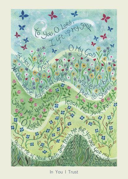Hannah Dunnett In You I Trust card USA version