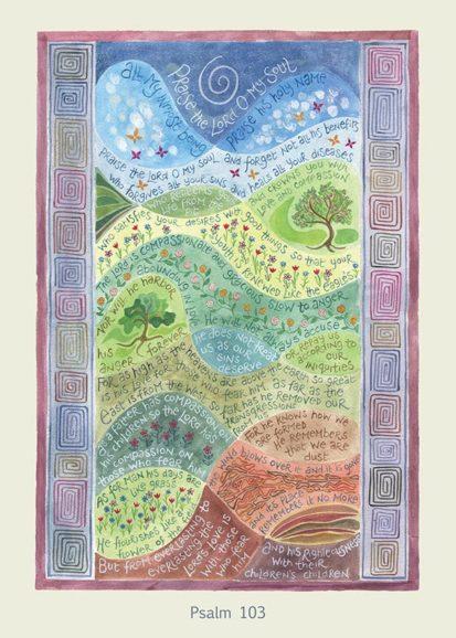Hannah Dunnett Psalm 103 card USA version