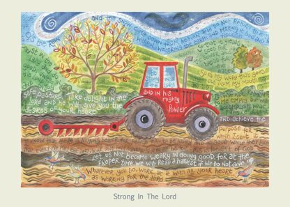 Hannah Dunnett Strong in The Lord card USA version