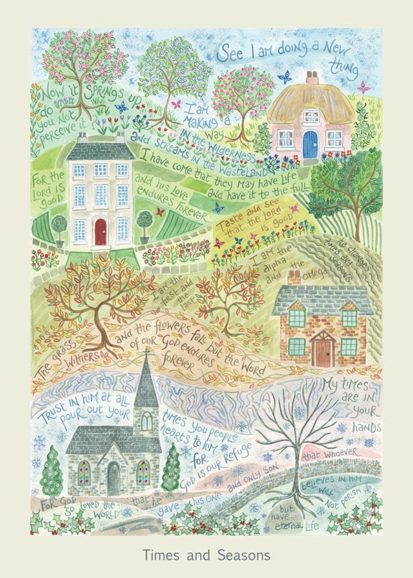 Hannah Dunnett Times and Seasons card USA version