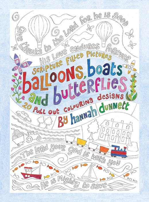 Hannah Dunnett kids coloring book cover US version