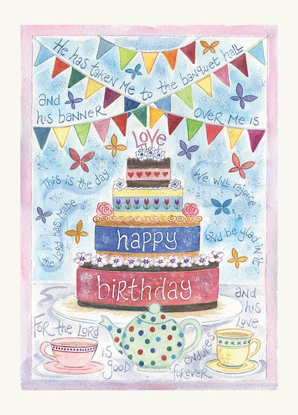 Hannah Dunnett Birthday USA greetings card