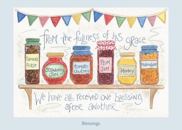 Hannah Dunnett Blessings card USA version