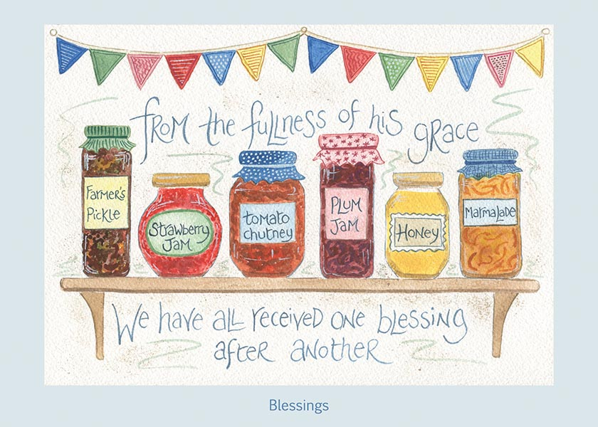Hannah Dunnett Blessings card USA version