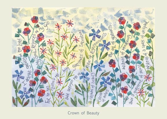 Hannah Dunnett Crown of Beauty card USA version