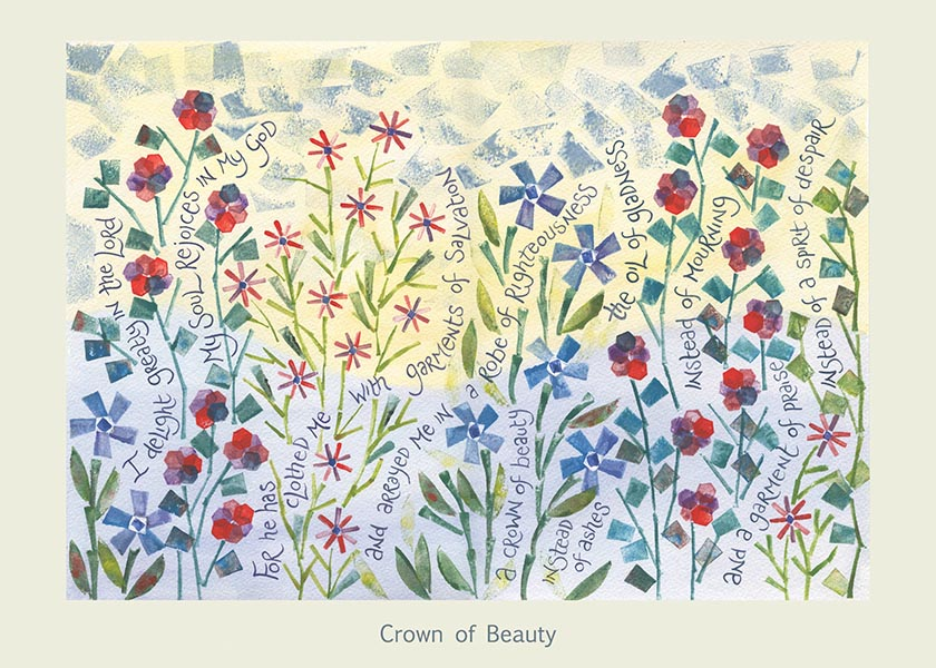 Hannah Dunnett Crown of Beauty card USA version