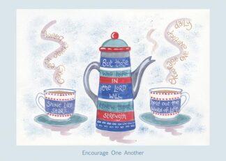 Hannah Dunnett Encourage One Another card USA version