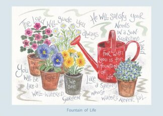 Hannah Dunnett Fountain of Life card USA version