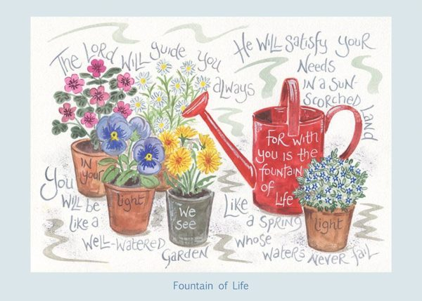 Hannah Dunnett Fountain of Life card USA version