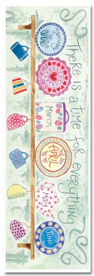 Hannah Dunnett A Time For Everything Bookmark front US version