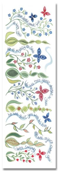Hannah Dunnett Great Delight bookmark front image US version