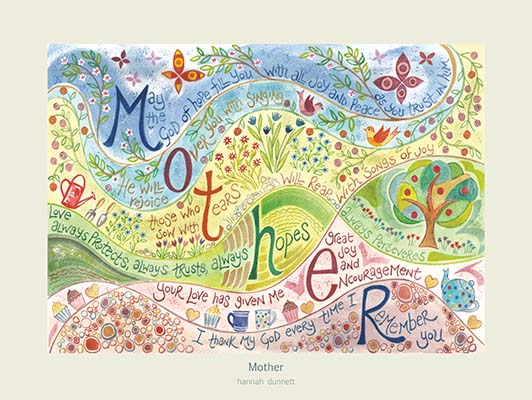 Hannah Dunnett Mother USA 12 x 9 poster