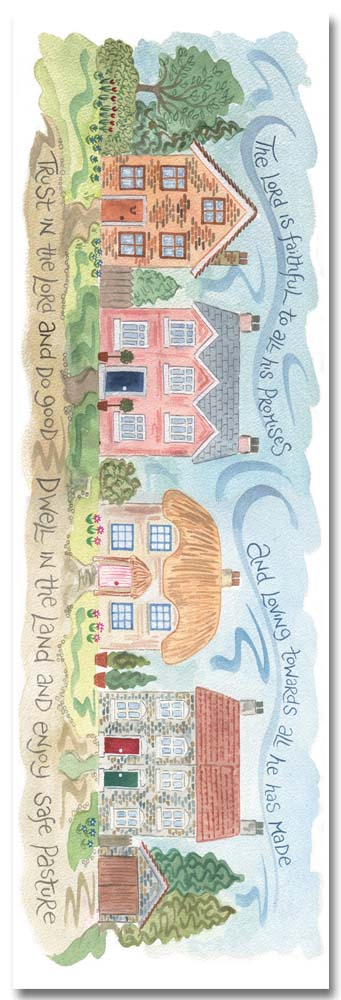 Hannah Dunnett The Lord is Faithful bookmark front image US version
