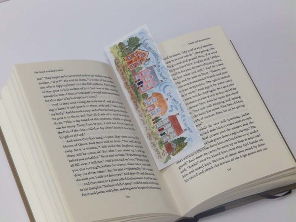 Hannah Dunnett The Lord is Faithful bookmark on book image US version
