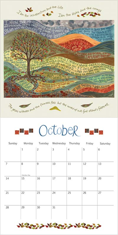 Hannah Dunnett USA Calendar 2018 October for website