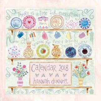 Hannah Dunnett USA Calendar 2018 front cover