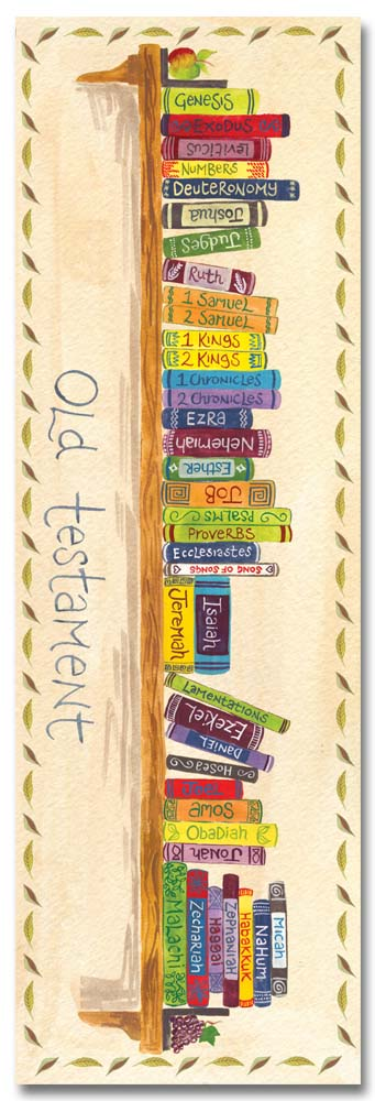 Hannah Dunnett books of the bible bookmark front image US version