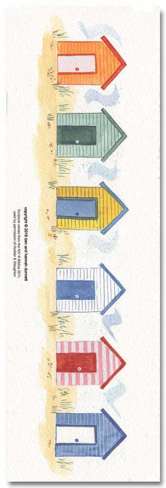 Hannah Dunnett trust in God bookmark back image US version