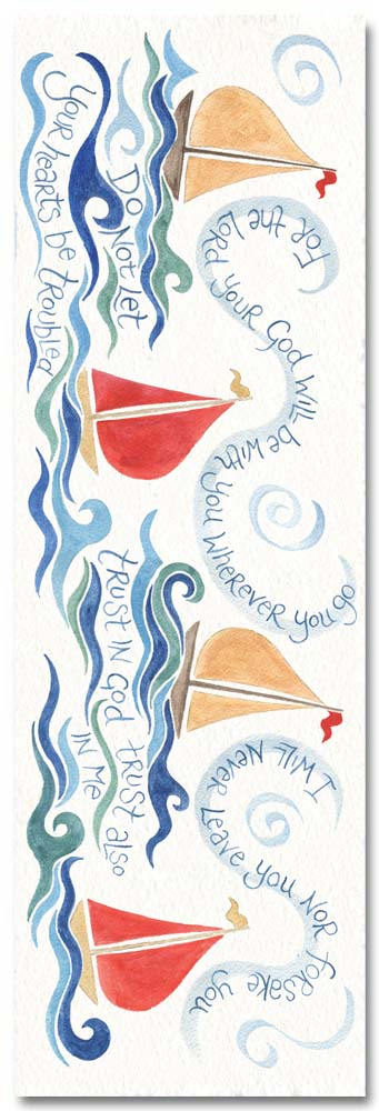 Hannah Dunnett trust in God bookmark front image US version